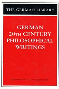 German 20th Century Philosophical Writings (German Library) epub