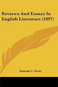 Reviews And Essays In English Literature (1897) epub