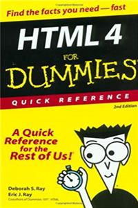 HTML 4 For Dummies: Quick Reference epub
