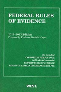 Federal Rules of Evidence, 2012-2013 with Evidence Map epub