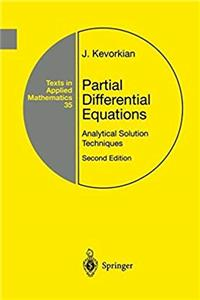 Partial Differential Equations: Analytical Solution Techniques (Texts in Applied Mathematics) epub