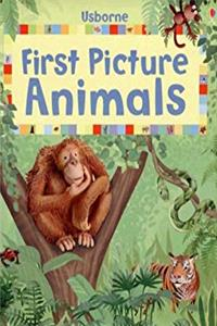 First Picture Animals (First Picture Board Books) epub