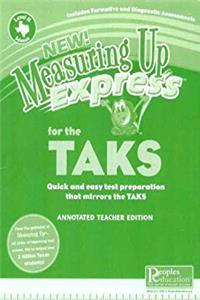 Measuring Up Express For The TAKS - Science - Quick and Easy Test Preparation That Mirrors The TAKS - Level H - Teachers Edition - 8th Grade epub