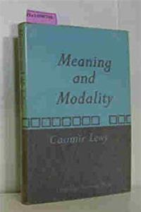 Meaning and Modality epub